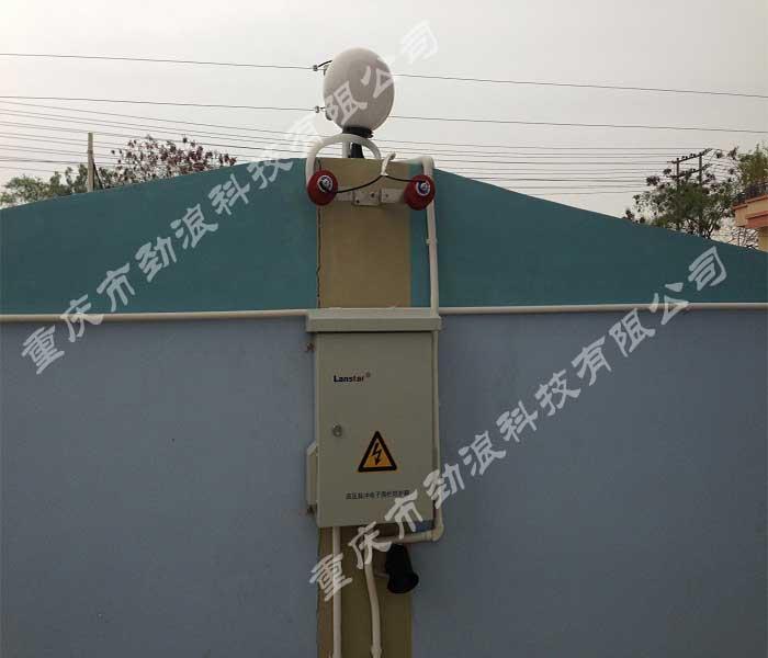 重庆某幼儿园电子围栏