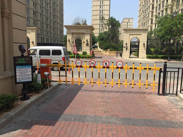 重庆某高档小区智能停车场管理系统