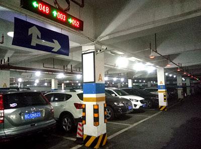 桂林某小区智能停车场系统
