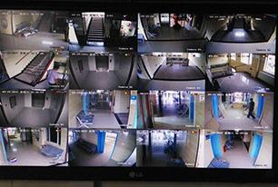 三甲医院模拟IP高清混合监控方案